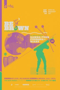 thePeople with special set by Be Brown aka Orfeu Negro plus Samba Funk!